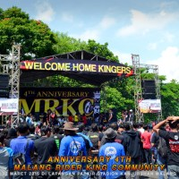 Welcome Home Kingers..!!! Anniversary 4' MRKC Malang