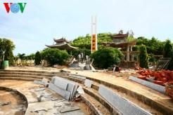 Nghĩa trang liệt sỹ huyện cũng đang được tu sửa
