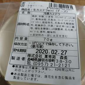 【ふわっとろっ】半熟生カステラmini 10個セット Wチーズ 本場 長崎 半熟 生カステラ コラーゲン配合 半熟カステラ お取り寄せ スイーツ 冷凍 プレゼントにも