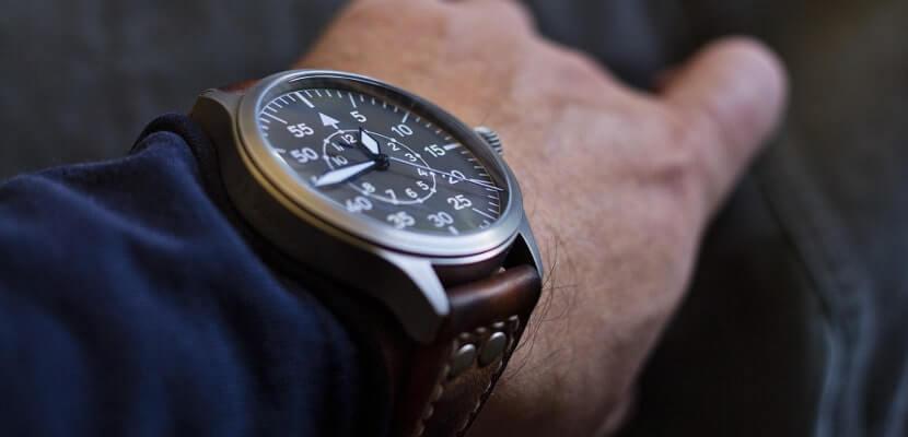 腕時計が写った写真