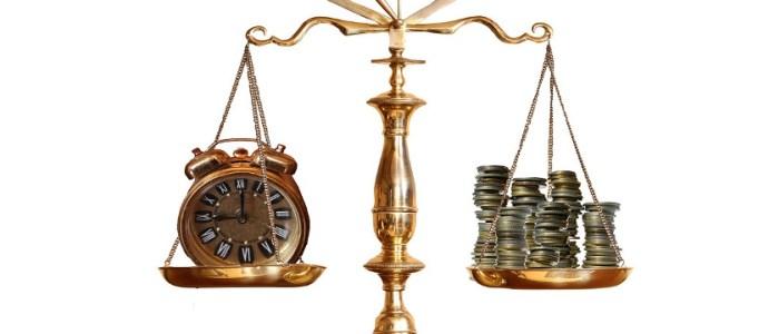 お金と時間を天秤にかける