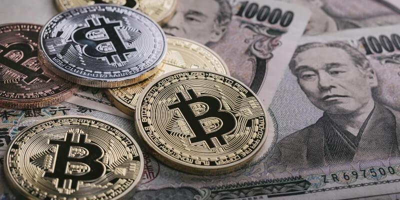ビットコインと1万円札