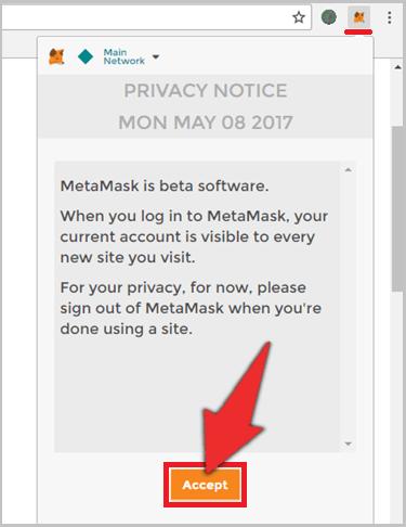 MetaMaskのインストール手順3