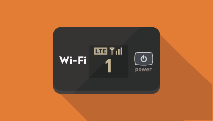 Wi-Fiルーターのアイコン