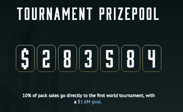 TOURNAMENT PRIZEPOOL