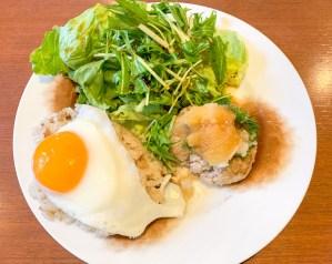 茶倉豆腐ハンバーグランチ