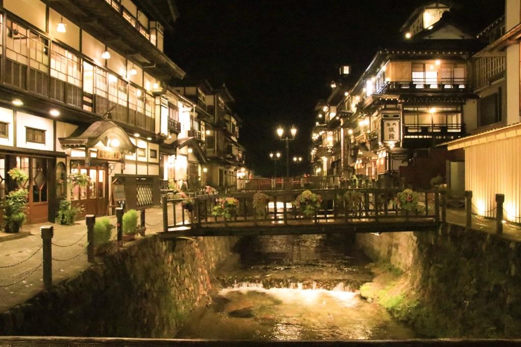 銀山温泉 夜