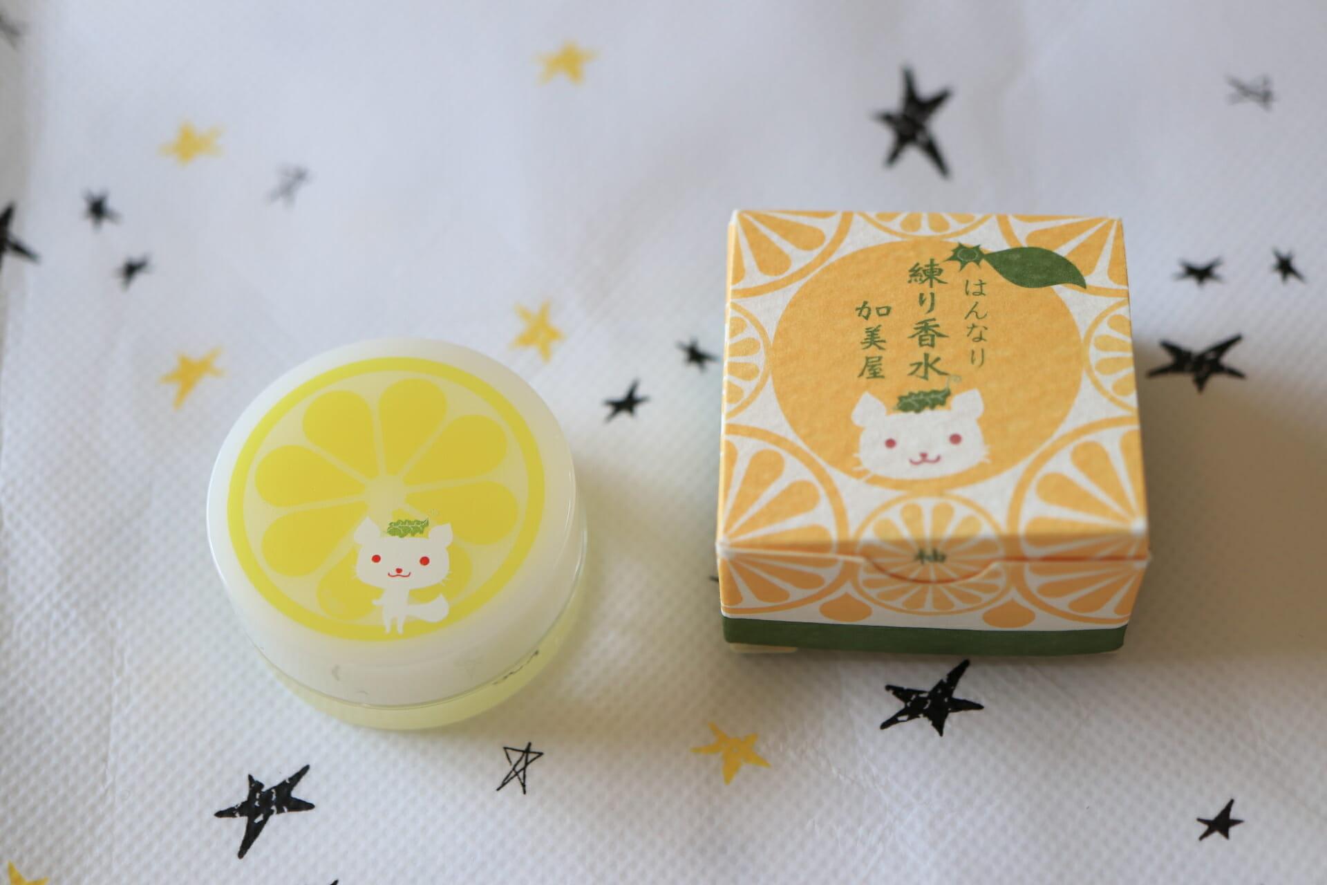 京コスメの加美屋 練り香水