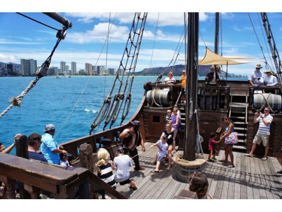 Hawaii Pirate Ship Adventures(パイレーツシップ・アドベンチャー)