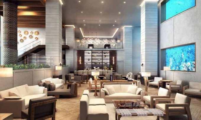 パシフィックビーチホテルの改装概要(パブリックスペース)