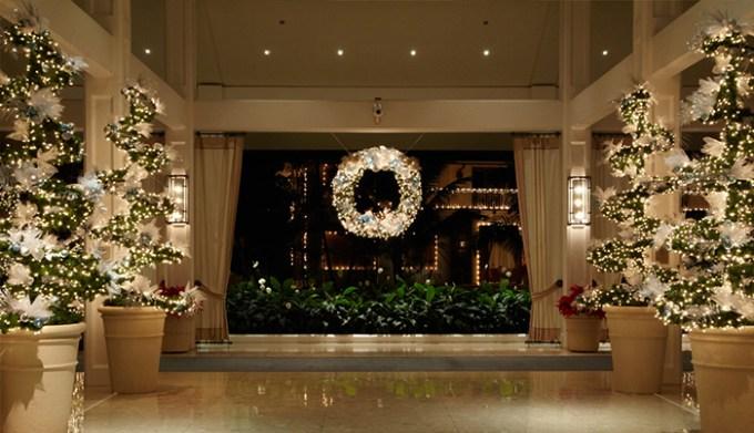 ハワイのホテル&ショッピングセンターのクリスマス・デコレーションをチェック2017
