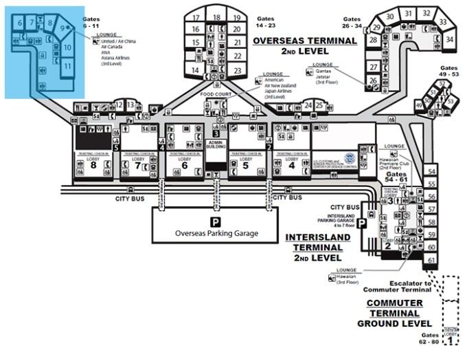 Diamond Head Concourse(ダイアモンドヘッドコンコース)Gates 6-11