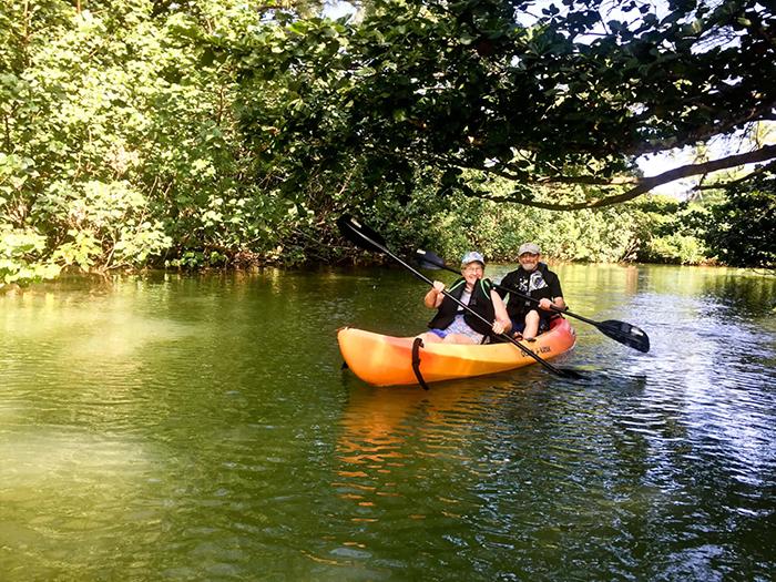 Rainforest Kayak Tour(レインフォレスト・カヤック・ツアー)