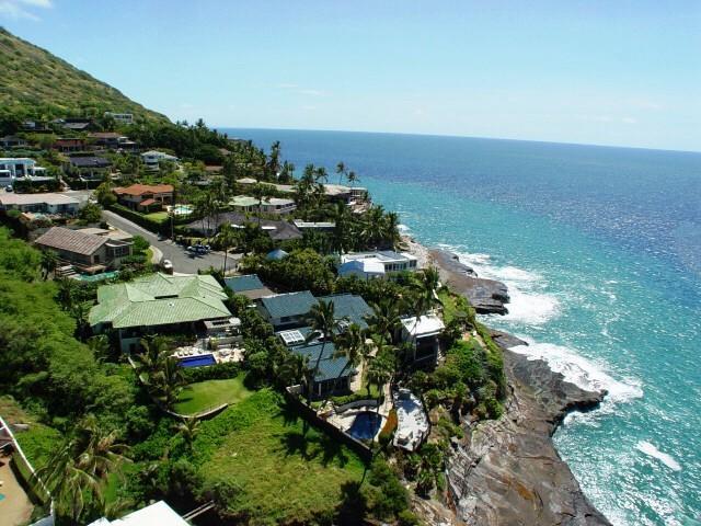 ハワイカイの豪邸