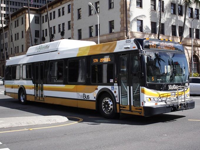 2018年1月1日から「TheBus(ザ・バス)」の運賃を値上げするそうです。