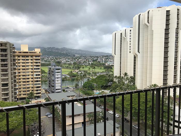 Waikiki Banyan(ワイキキ・バニアン)のラナイ