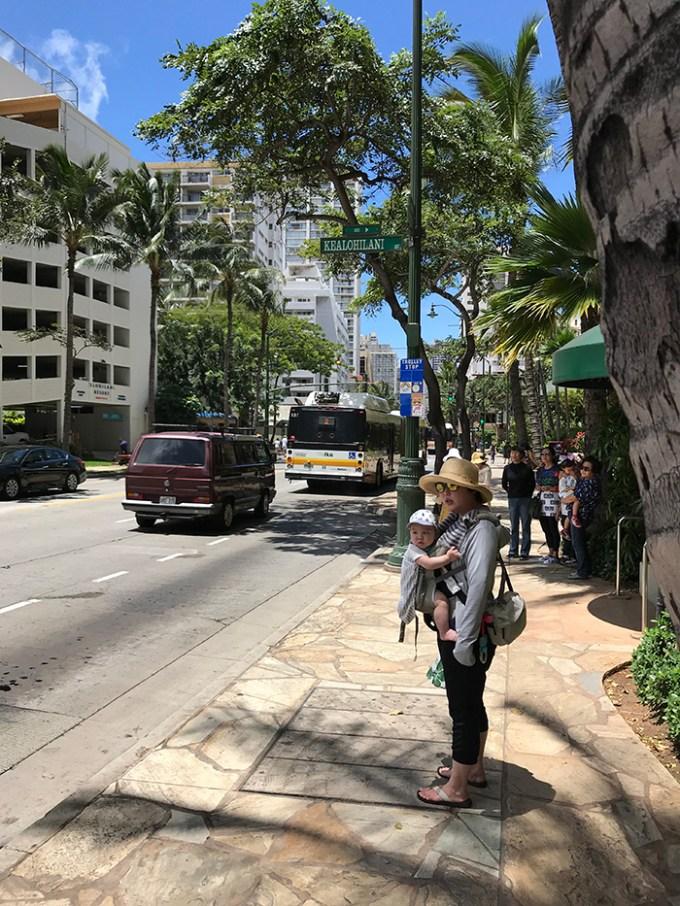 Waikiki Banyan(ワイキキ・バニアン)から1番近いトロリー停留所(アラモアナ方面)