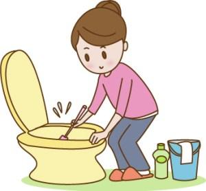 トイレ掃除,頻度,キレイにする方法,手間