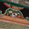 日光東照宮眠り猫 一ヶ月半だけ目を開けて、おきていました。