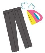 ズボンの膝が伸びるのを直すアイロンのかけ方とプリーツを長持ちさせる方法