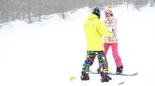 スノーボード 滑り方 初心者