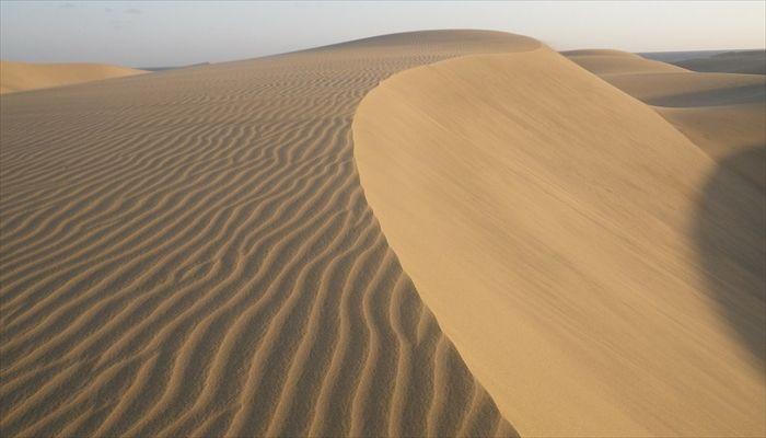 黄砂の原因