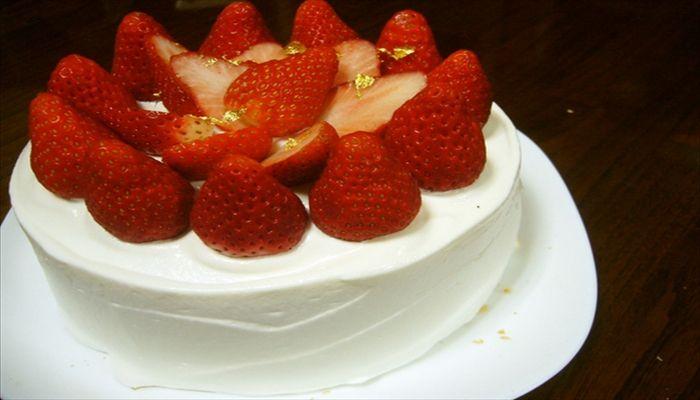 こどもの日 手作りケーキ ショートケーキ