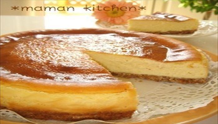 こどもの日 手作りケーキ チーズケーキ