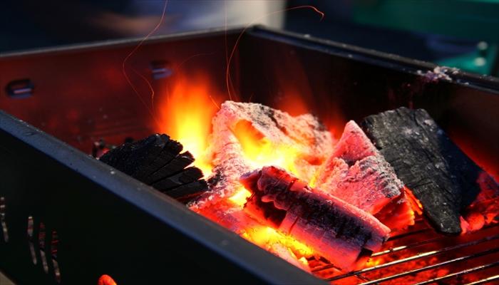 BBQ バーベキュー 炭 火付け 火起し