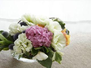 ジューンブライド 花 装花