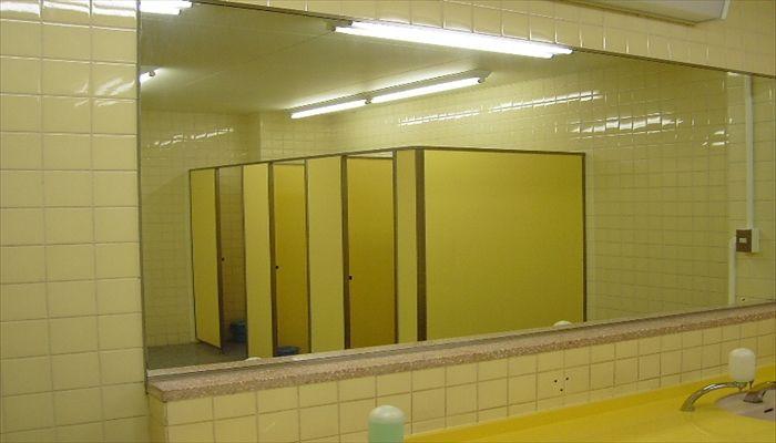 大岡川 桜 トイレ