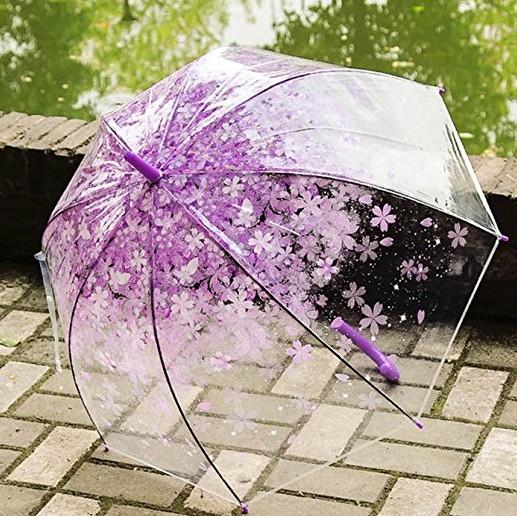 かわいいビニール傘