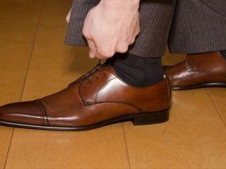 雨 革靴 手入れ