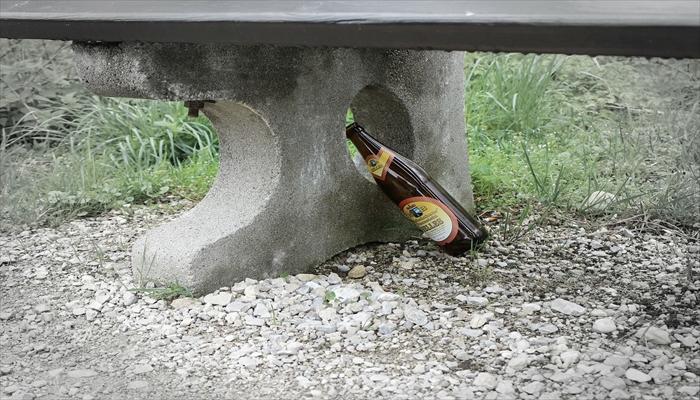 日産スタジアム 持ち込み ゴミ捨て ゴミ