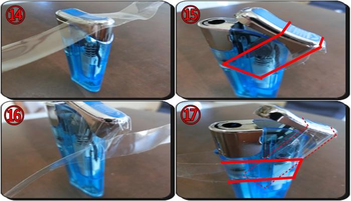ライター捨て方 ガス抜き方法6