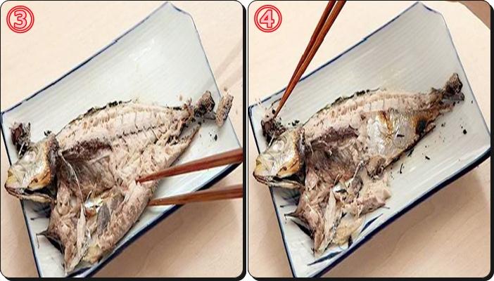 さんま 食べ方 マナー 手順3.4