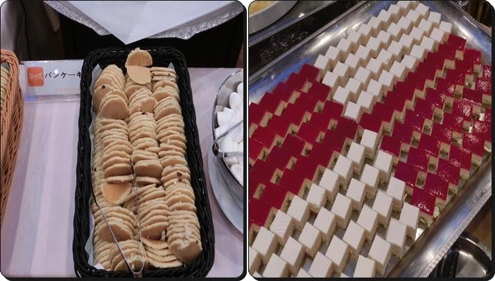 熱海 ニューフジヤホテル バイキング パンケーキ ケーキ