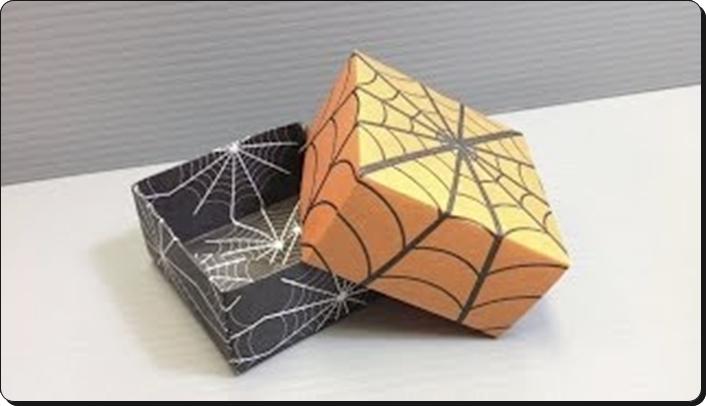 ハロウィン 折り紙 箱