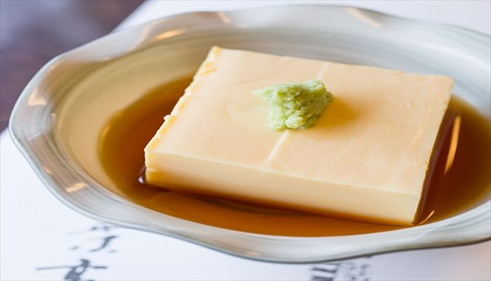 夏といえば 玉子豆腐