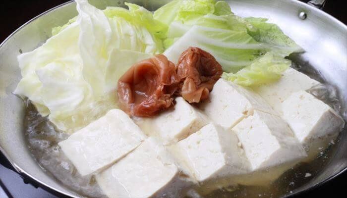 冬 料理 湯豆腐