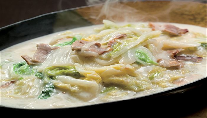 冬 料理 白菜クリーム煮