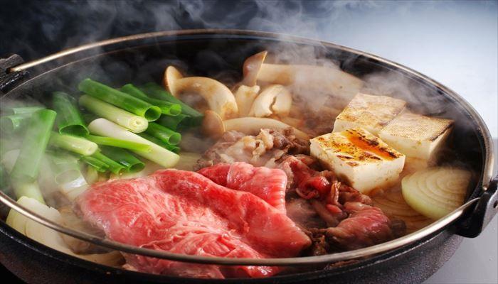 冬 料理 すき焼き
