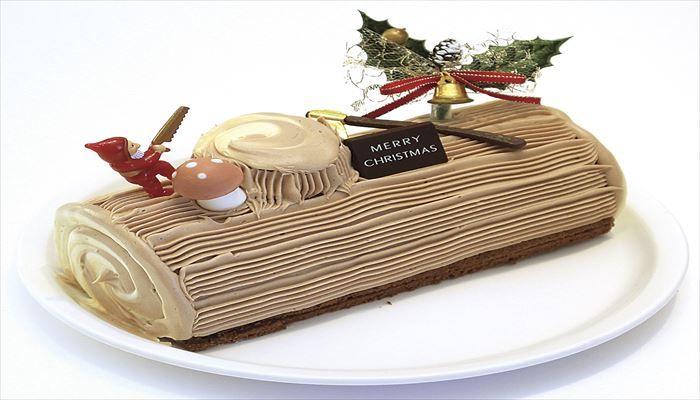 冬 料理 ブッシュ・ド・ノエル