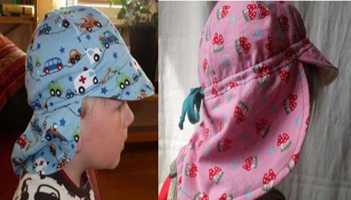 帽子 日よけ 作り方 型紙 3