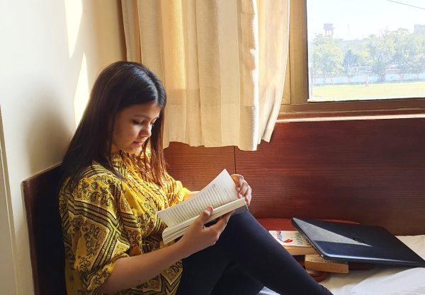 reading a book - Kinjal Parekh - Mumbai - India