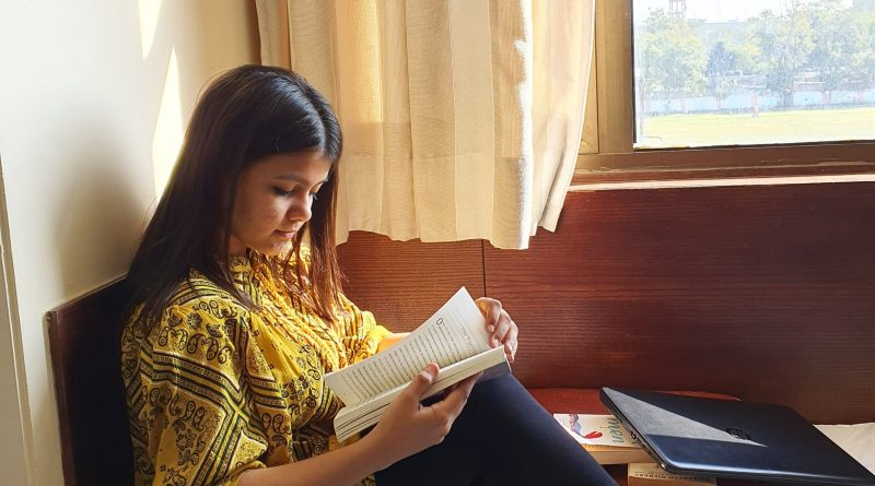 reading a book - Kinjal Parekh - Mumbai - India