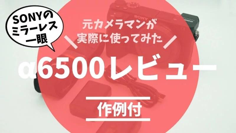 α6500レビューアイキャッチ