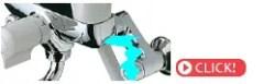 水栓本体との接続部から水が漏れる。