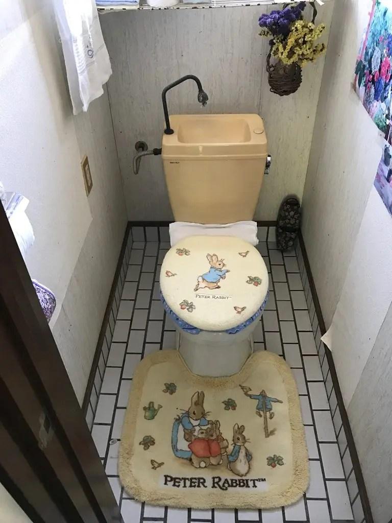 簡易水洗便器交換工事施工事例画像