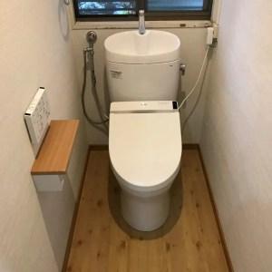 トイレリフォーム施工事例工事完了後